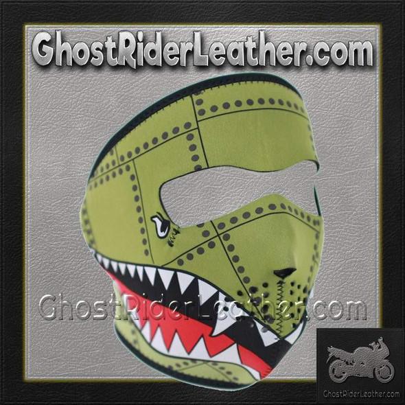 Bomber Neoprene Full Face Mask - Motorcycle Mask - WNFM010-HI