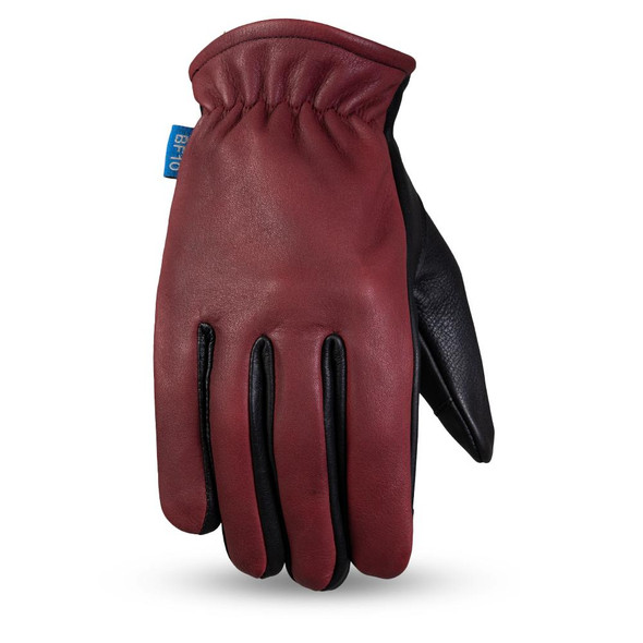 Born Free Roper - Men's Leather Motorcycle Driving Riding Gloves - BF211-FM