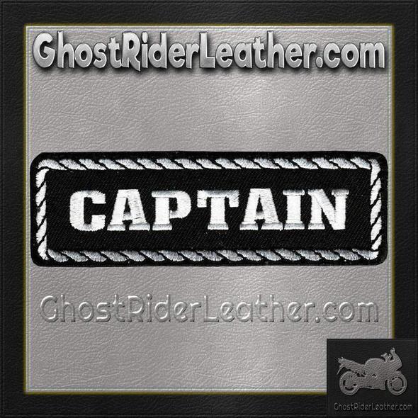 Captain Vest Patch - SKU GRL-PPD1010-HI
