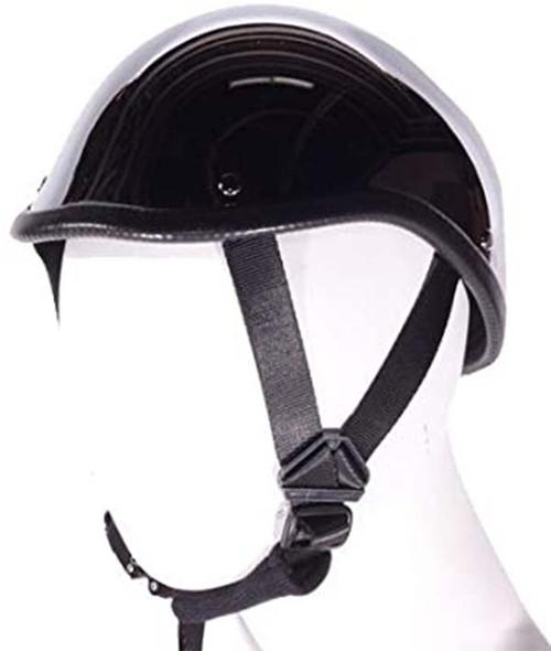 Novelty Motorcycle Helmet - Chrome - Gladiator - HC103-DL