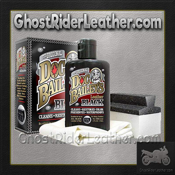 Doc Bailey's Leather Black Cleaner and Conditioner Kit - SKU AL3350-AL
