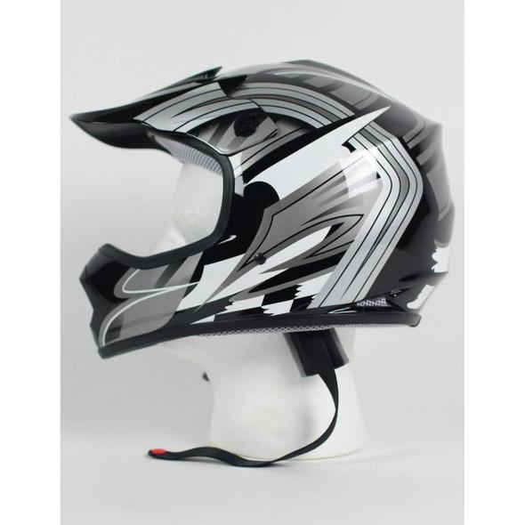 DOT Kids ATV Helmet - Dirt Bike - Motocross - Graphics - Color Choice - DOTATVKIDS-MX-G-HI