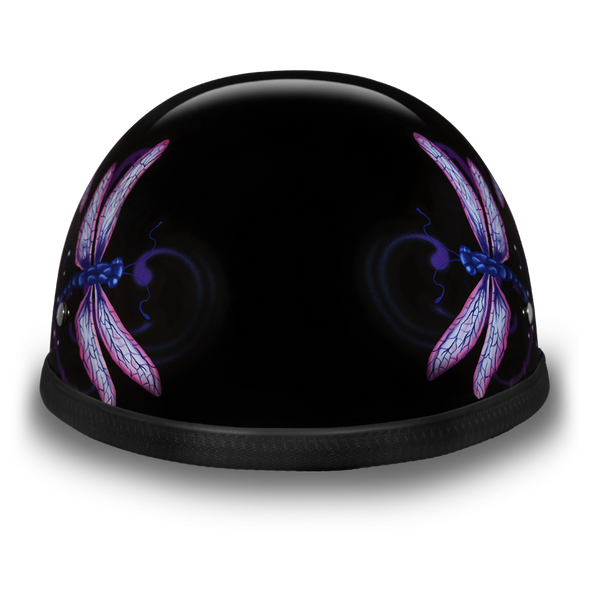 Novelty Motorcycle Helmet - Dragonfly - Eagle Shorty - 6002DF-DH