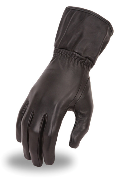 Women's Cold Weather High Performance Insulated Gauntlet Motorcycle Gloves - SKU FI122GL-FM