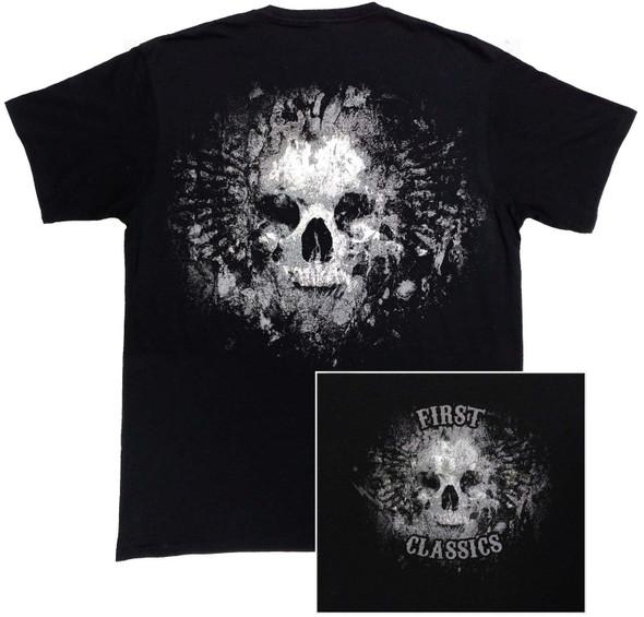 Grave Skull Reflective T-Shirt - SKU FIMTR003-FM