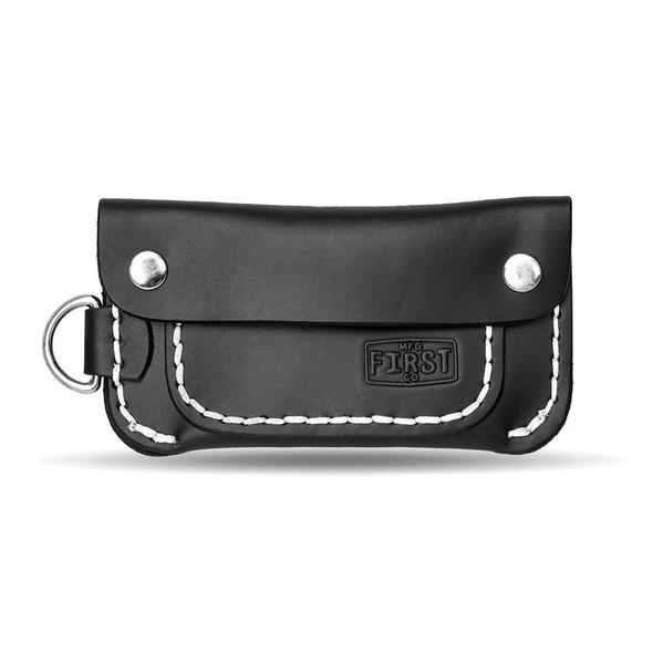 Half Trucker Leather Wallet in Choice of Brown or Black - FIWALLET2
