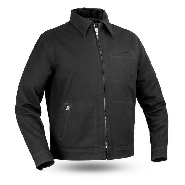 Hanover - Men's Canvas Motorcycle Jacket - SKU FIM252CNVS-FM