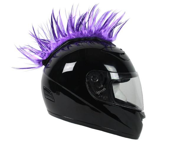 Helmet Mohawks - 4 Color Choices - Motorcycle Helmet Accessories - MOHAWK-HI