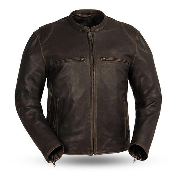 Indy - Men's Motorcycle Leather Jacket - SKU GRL-FIM278CDL-FM