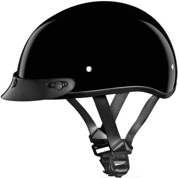 DOT Motorcycle Helmet - Children's - Skull Cap - Shorty - CD1-A-DH