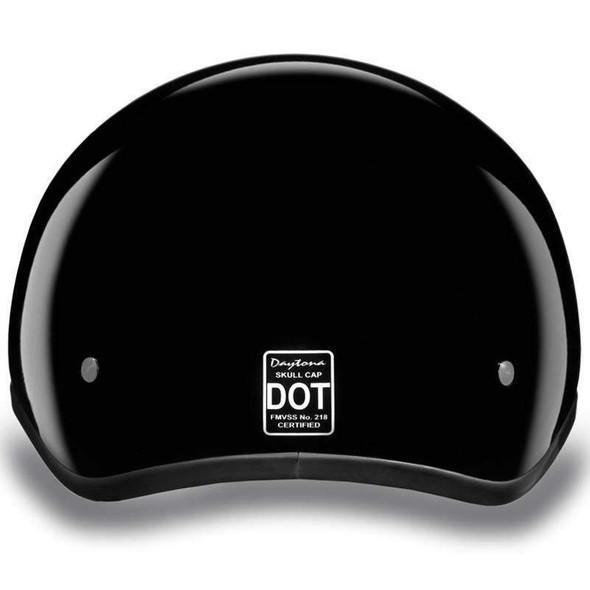 Kids DOT Daytona Skull Cap Jr Open Face Motorcycle Helmet - SKU GRL-CD1-A-DH