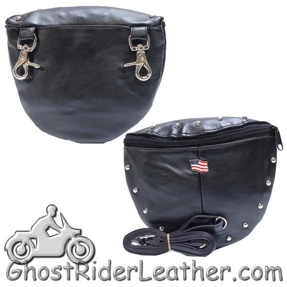 Belt Bag - American Flag Design - PVC - Handbag - BAG22-DL