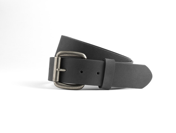 Men's Leather Belt in Choice of Black or Brown | FIMB16000-FM