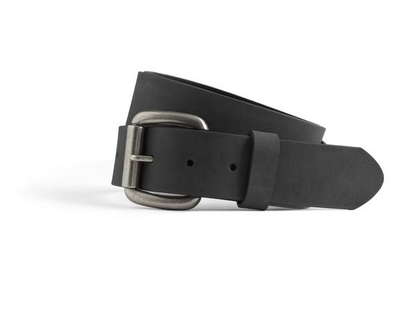Men's Black Leather Belt | FIMB16004