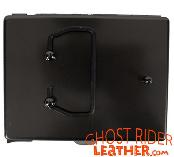 Metal Cigarette Case - Skull and Wings Design - Biker Gift Ideas - CG8-DL