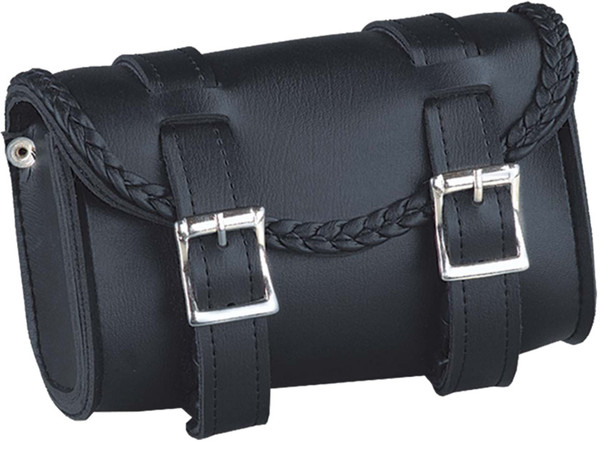 UNIK PVC Tool Bag With Braid Design - Biker Gear Bags - SKU 2822-BO-UN