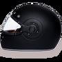 Retro Dull Black - Full Face Motorcycle Helmet - SKU GRL-R1-B-DH