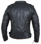 UNIK Ladies Premium Lambskin Leather Biker Jacket - 6845-00-UN