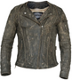 UNIK Ladies Premium Leather Motorcycle Jacket in Crispy Brown - 6847-CR-UN