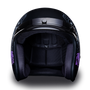 DOT Daytona Cruiser Heaven Sent Open Face Motorcycle Helmet - SKU GRL-DC6-HS-DH