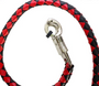 Get Back Whip - Black and Red Leather - 50 Inches - SKU GBW6-11L-DL