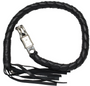 3 Inch Fat - Get Back Whip - Black Leather - 36 Inches - SKU GBW1-11S-T2-DL