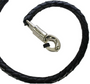 Get Back Whip - Black Leather - 36 Inches - SKU GBW1-11S-DL