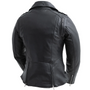 Bloom - Women's Leather Motorcycle Jacket With Embroidered Roses - SKU FIL197SDMZ-FM