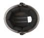 German Dull Flat Black Novelty Motorcycle Helmet - Daytona Helmets - SKU 1004B-DH