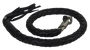 3 Inch Fat - Get Back Whip - Black Leather - 42 Inches - SKU GBW1-11-T2-DL