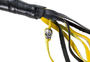Get Back Whip in Black and Yellow Leather - 42 Inches - Motorcycle Accessories - SKU GBW8-11-DL