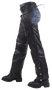 Leather Assless Chaps with Braid Design for Men or Women - SKU GRL-C326-04-DL