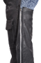 Leather Assless Chaps with Braid Design for Men or Women - SKU C326-04-DL