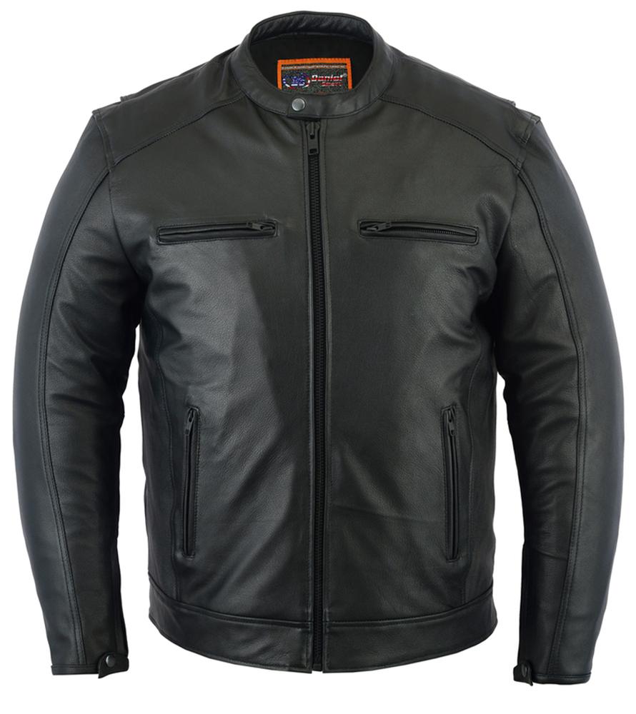 Top Ten Men's Best Leather Cruiser Motorcycle Jackets.