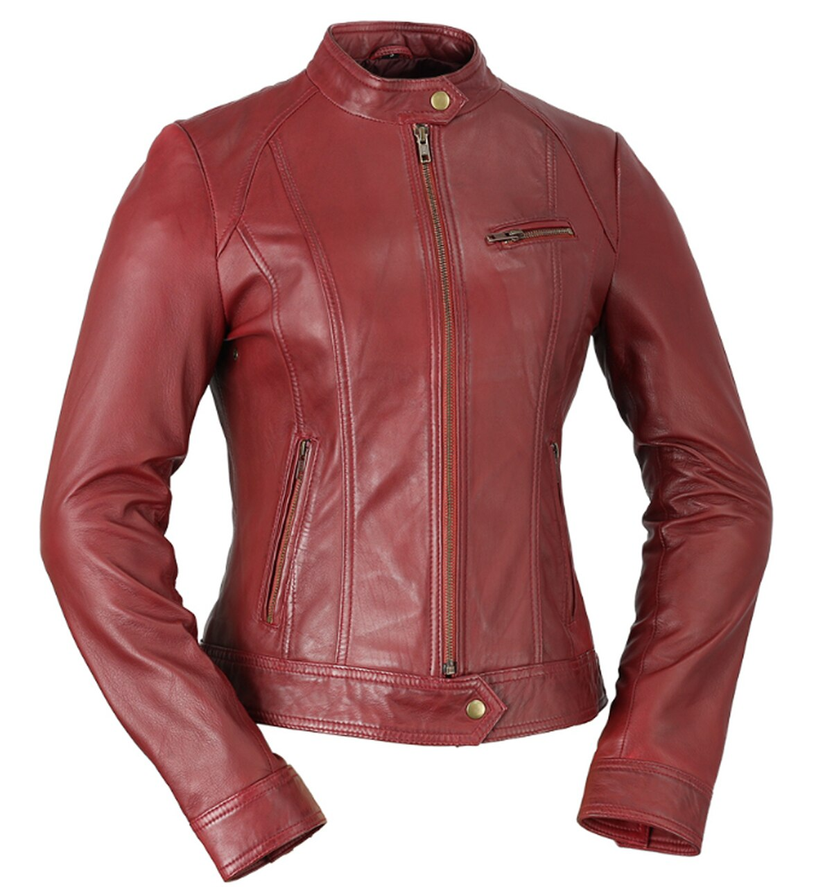 Favorite - Women's Leather Jacket - Many Colors