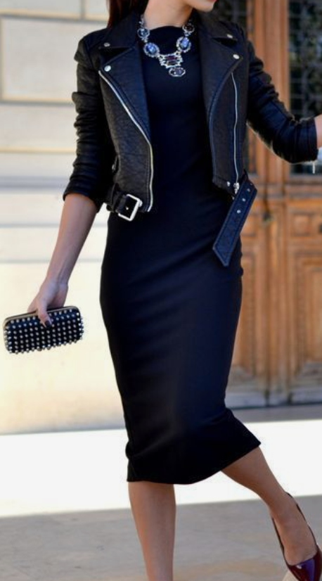 How To Style A Women's Leather Jacket
