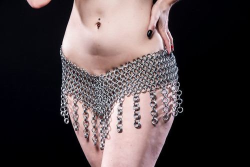 Chainmail Gypsy Jingle Skirt