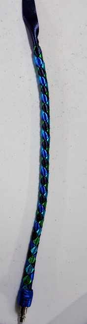 (4 Strands)  Metallic Blue, Metallic Sapphire, Metallic Green and Metallic Turquoise Scorpion