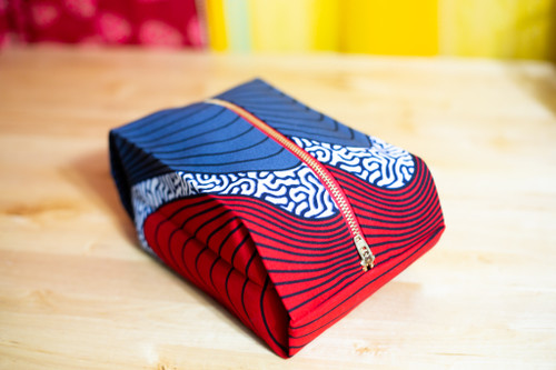 Sound Waves Pop Up Pouch
