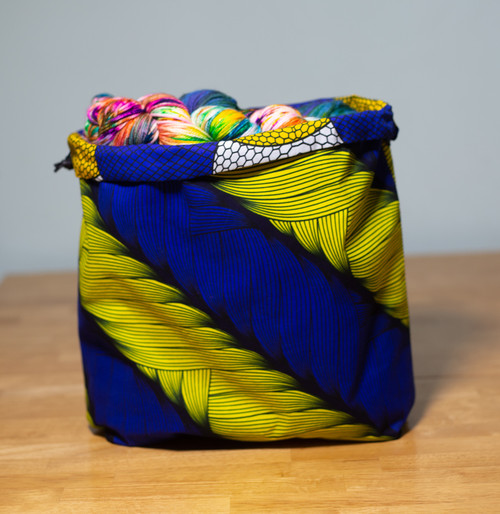 Disco Ball Wrapped in Radiant Ribbons - Project Bag