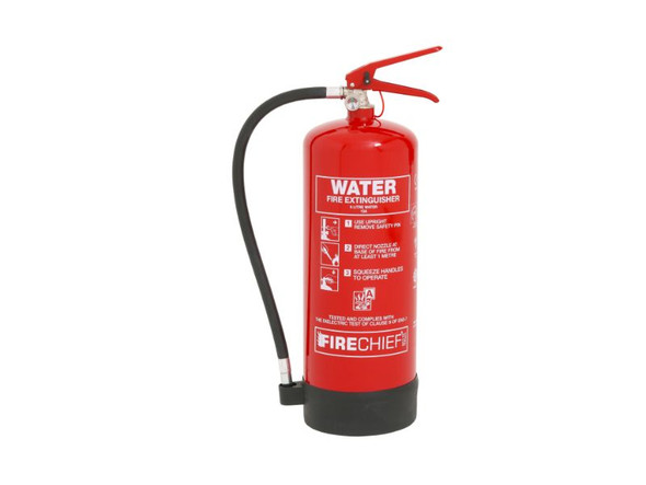 6 litre Spray Water Fire Extinguisher