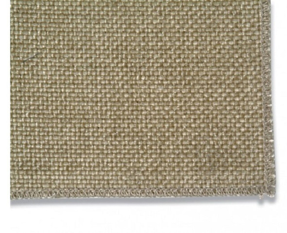 1m x 1m heavy duty pre-coated glass fibre drape
