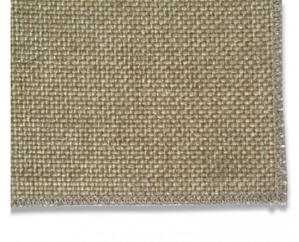 1m x 2m heavy duty pre-coated glass fibre drape