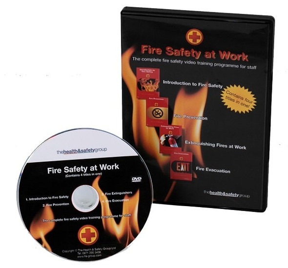 Fire Safety at Work DVD