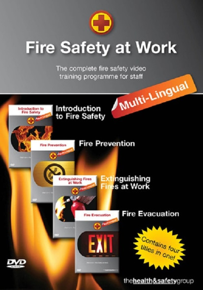 Fire Safety at Work Multilingual DVD