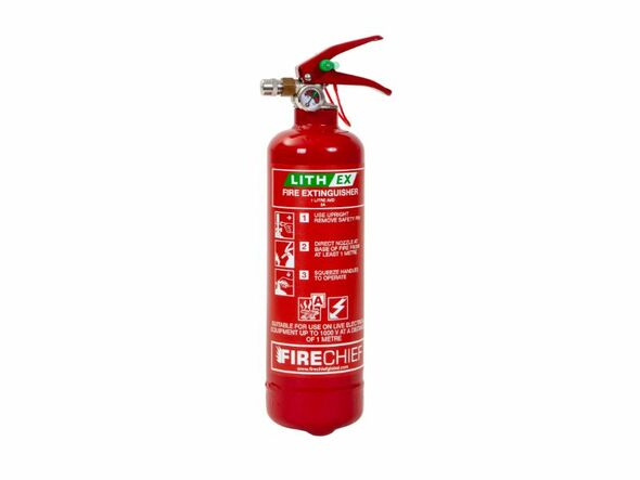 Firechief 1L Lith-Ex Extinguisher