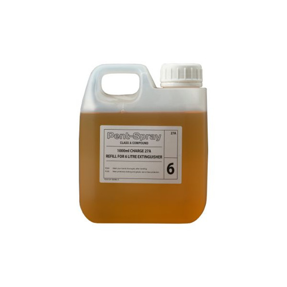 600ml Firechief XTR Water Additive refill for 6L extinguisher