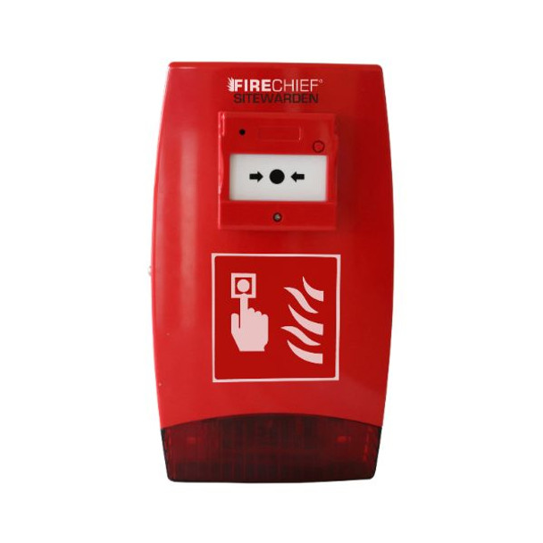 Firechief Sitewarden SE Call Point Site Alarm