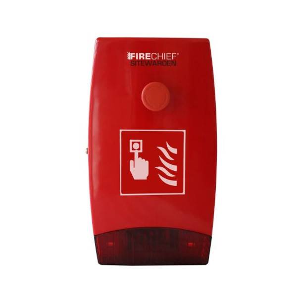 Firechief Sitewarden SE Push Button Site Alarm