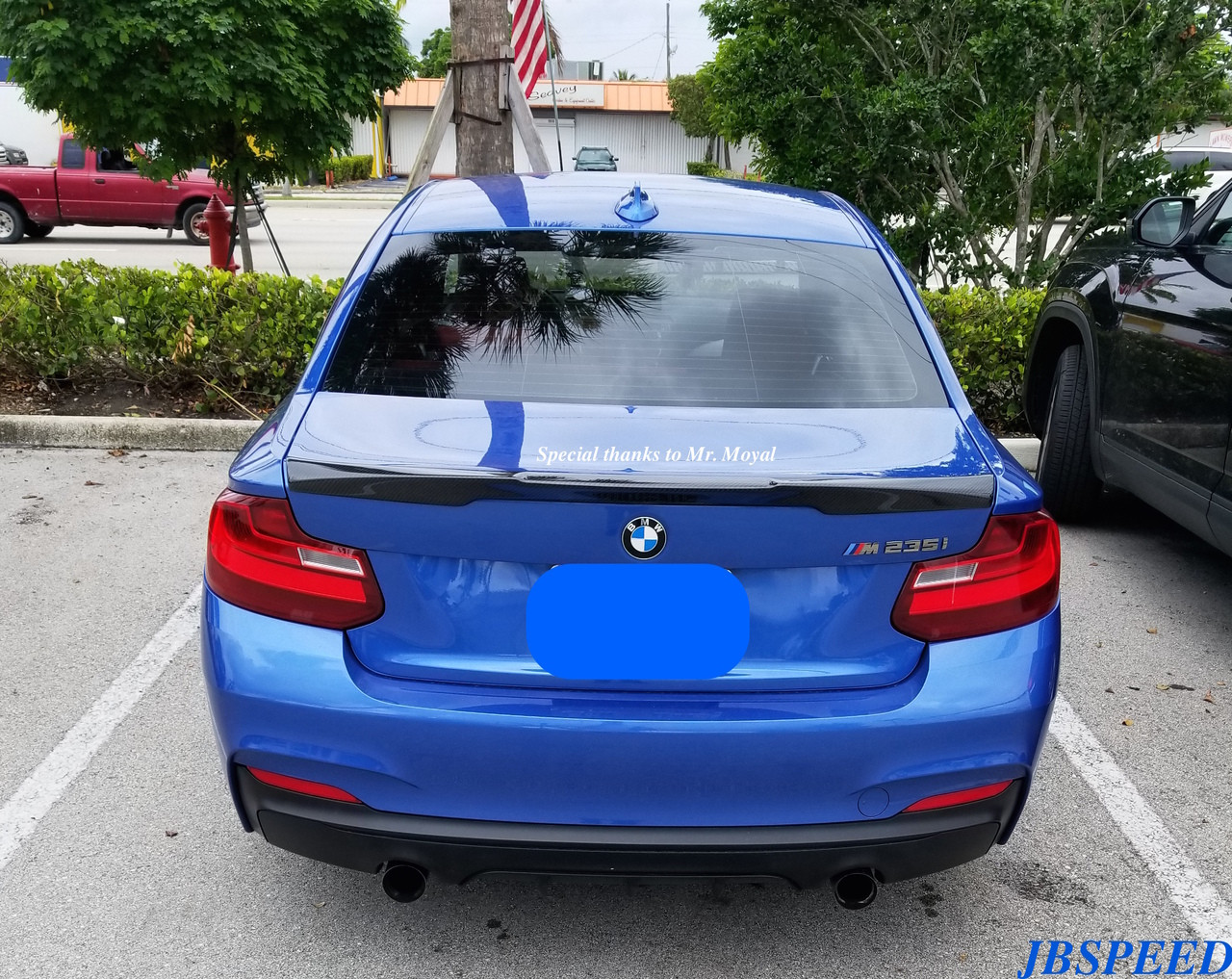 Bmw M4 Style Carbon Fiber Performance Spoiler For F22 M2 Free